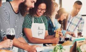 Cours de Français Standard et Cours de Cuisine en France