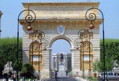 Arc de triomphe and Château d'eau Montpellier