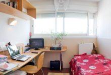 Beispiel Zimmer auf dem Universitätscampus