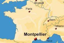Karte von Frankreich