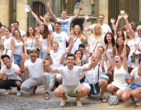 White Dress Party in Montpellier