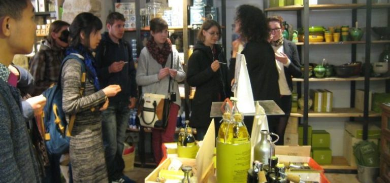 Olive oil and tapenade tasting in Montpellier
