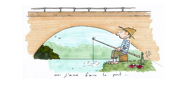 "French Expression : ""Faire le pont"""