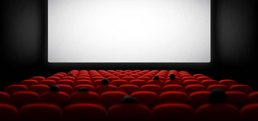 Ein Abend in einem französischen Kino