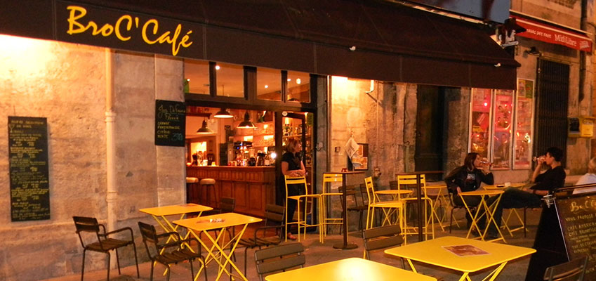 'Le Broc Café' Enjoy A Glass of Wine in The Historic Centre of Montpellier